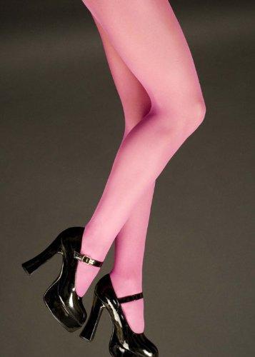 Damen Plus Größe Magenta Rosa Strumpfhosen