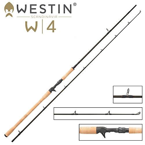 Westin W4 Powercast-T 5XH 255cm 120-260g - Spinnrute mit Triggergriff für Multirolle, Hechtrute für Swimbaits & Jigs