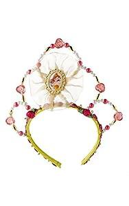 Princesas Disney - Tiara de Bella, color amarillo, Talla única (Rubie