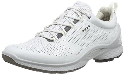 Ecco Damen Biom Fjuel Outdoor Fitnessschuhe, Weiß (1007WHITE), 40 EU - Ecco Sportschuh Damen