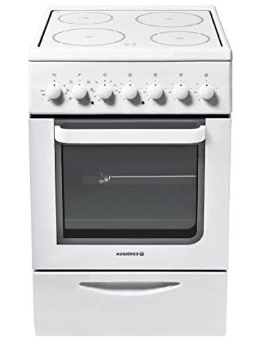 Rosieres RVC5318RB/1 Cuisinière Céramique A Blanc four et cuisinière - fours et cuisinières (Cuisinière, Blanc, Rotatif, Devant, Bas, métal)