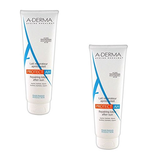 2 a-derma protect ah repairing lotion after-sun 2x250ml lozione riparatrice doposole offerta risparmio