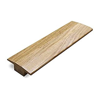 Solid Oak 15mm T Section Door Bar Threshold Moulding Un Finished 900mm Trim