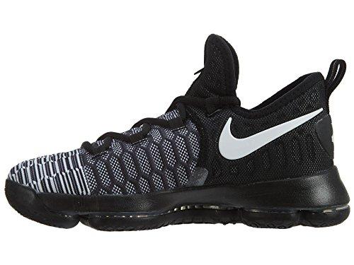 Nike Zoom Kd9 (Gs), Scarpe da Basket Uomo Bianco (Black / White) (nero)