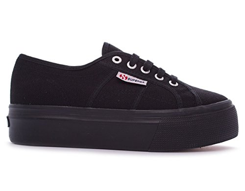 Superga 2790 Cotw Linea Up and Down, Sneakers Basses femme Noir - Full Black
