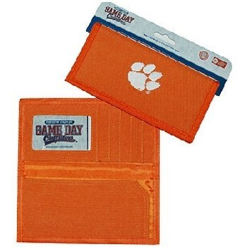 NCAA Clemson Tigers Ladies Wallet with Checkbook Holder by Game Day Outfitters
