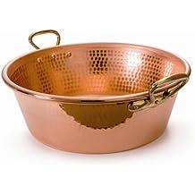 Mauviel MPassion - Caldero de bronce para mermelada (44 cm)