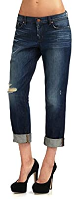 J Brand Blue Distressed Jeans Tg. 29 Aidan Slouchy Boy Jean Ringer 1214C035/C