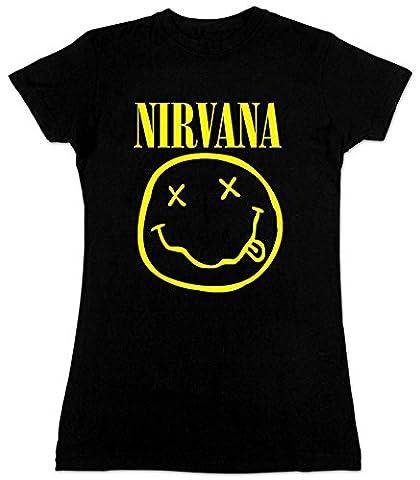 Old Glory - T-shirt - Femme - Noir - Noir - 38