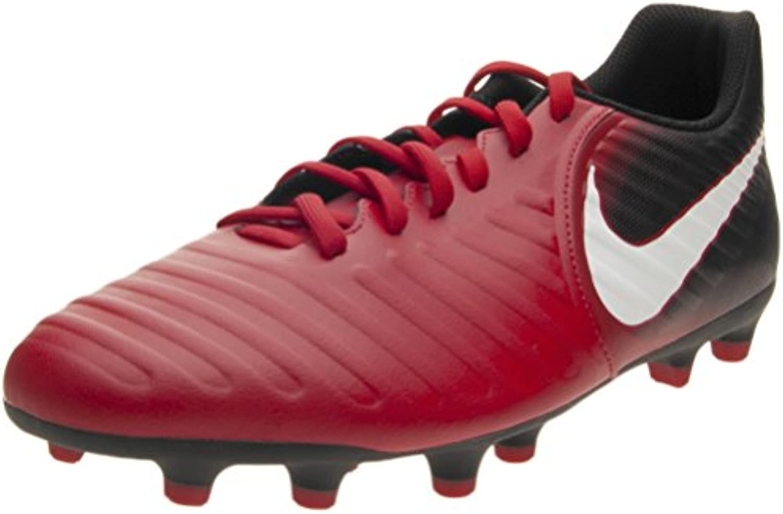 Nike , Herren Fußballschuhe Rot rot / schwarz