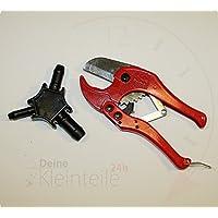 Juego de - cortador de tubos de F, de plástico de colour tubo multicapa de 42 mm PEX Multi calibrador, SET - Rohrschere