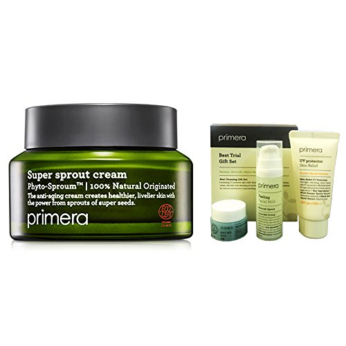Primera Technology 50ml Super Sprout crema antirughe Cura 1,69 once Amore Pacific