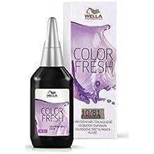 Wella Color Fresh Colorazione semipermanente senza ammoniaca, 10/81, 75 ml,  Pacco da 2