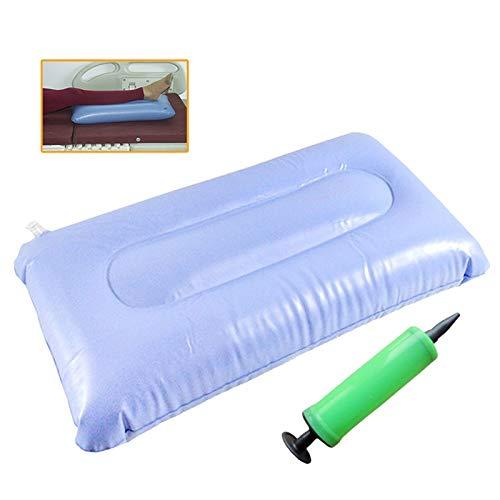 YLYP Anti-Dekubitus-Kissen, 50 * 125 cm (19,6 * 9,8 Zoll) Premium Luftaufblasbare Sitzkissen, Rollstuhlstuhl und WC- und Bettpflege (Farbe : with Pump)
