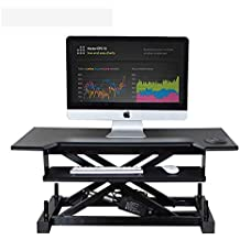 Schon Höhenverstellbar Sitz Steh Schreibtisch Computertisch   Schreibtischaufsatz  Steharbeitsplatz Standtisch  Für Einen Monitor Steharbeitsplatz