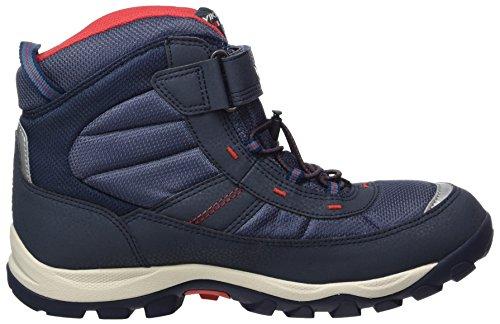 Viking Unisex-Erwachsene Sludd Elastic/Velcro Hohe Sneaker Blau (Navy/Red)