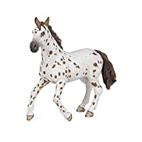 Papo 51509 Brown appaloosa mare HORSES, FOALS AND PONIES Figurine, Multicolour