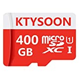 Micro-SD-Karte 400 GB Micro SD/HC Class 10 High Speed Speicherkarte für Handy, Tablet und PC, mit Adapter