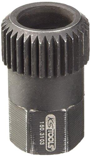 KS Tools 150.3103 Vielzahneinsatz 15,0 mm, 33 Zahn, gebohrt