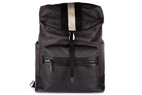 bally-nylon-rucksack-herren-tasche-laptop-schulrucksack-tenzing-medium-grau