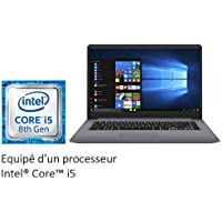 "Asus S501UA-EJ1201T Ultrabook 15"" FHD (Intel Core i5, Disque Dur 1 To + SSD 128 Go, 8 Go de RAM, Windows 10) Clavier AZERTY Français"