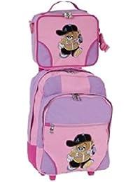 STEFANO Trolley Kindertrolley Reisetasche Kinder Kindertasche Teddy