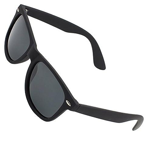 CGID Polarised Wayfarer Sunglasses - Black Cat 4 Lenses Offering