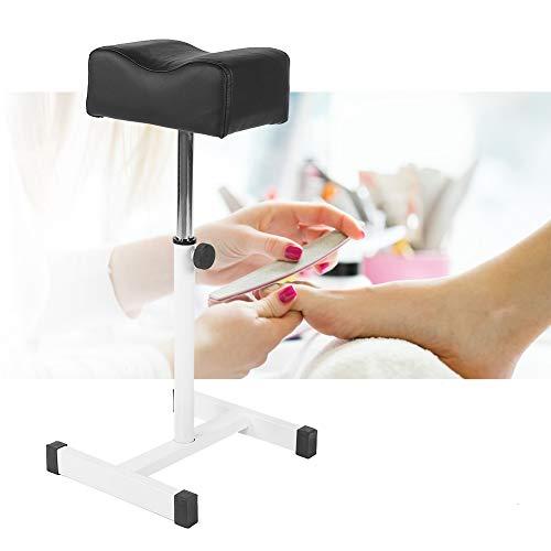 Pedicure sgabello sedia con poggiapiedi poggiapiedi poggiapiedi poggiapiedi poggia gambe con ruote per cosmetici professionali regolabile altezza per