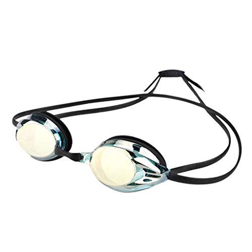 SANFASHION Unisex Sommer Schwimmbrille für Erwachsene Sonnenbrill Anti Fog UV Schutzbrillen