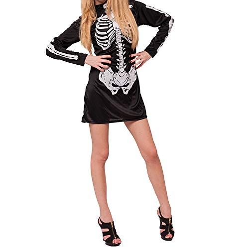 Halloween kostüm S.CHARMA Kostüme für Erwachsene Cosplay Unheimlich Kleidung Halloween-Set Performance-Kostüm Schwarze Hexe Kind
