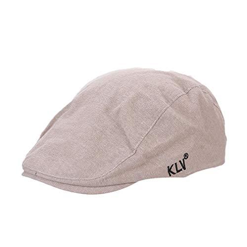 Pinhan Baumwolle Ente Einfarbig Cape Tongue Französisch Barett Lvy Hut für Männer Outdoor Travel Männer und Frauen Gemeinsame, ()