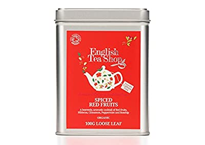 English Tea Shop Infusion Fruits Rouges Cannelle Bio 100 g