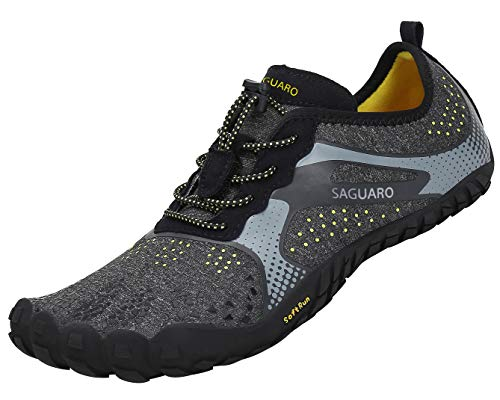 SAGUARO Unisex Barefoot Shoes Trail Running Shoes Gym Fitness Trainers Hiking Walking Shoes Quick Drying Water Shoes
