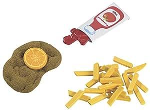 HABA 1474 Wiener Schnitzel mit Pommes frites, Kleinkindspielzeug