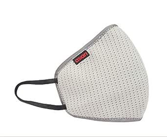 ASIAN Unisex Reusable 6 Layer Outdoor Face Mask (Grey)