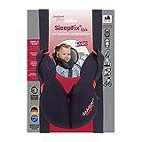 SANDINI SleepFix® Kids BASIC - Cuscino per bambini/ Cuscino del collo con funzione protettiva - Accessori per seggiolini per bambini come versione BASIC per auto/ moto/ viaggi - Designed in Germany
