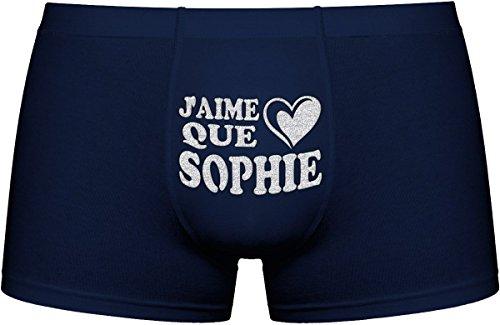 Les Boxers Pour Hommes | J'aime que Sophie | Cadeau Anniversaire Unique et drôle. Article de nouveauté. Idée ()