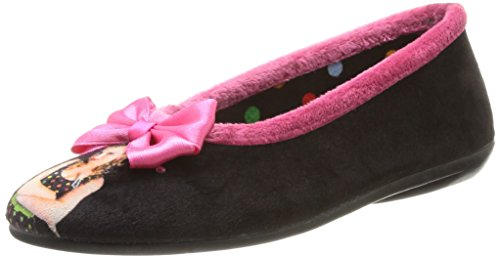 Be Only Ballerine Angele, Polacchine Donna Multicolore (Gris/Rose)