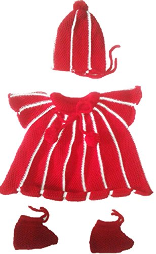 RK SWEATERS Baby Girls' Sweater 6-12 Months(Red_6-18 Months)|Also Suitable for (6-9),(9-12),(12-18) Months Baby Boy's & Girl's,1 Year Baby boy & 1 Year Baby Girl