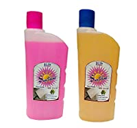 Sunshine Yellow and Pink Floor Cleaner,500ml,Combo of 2