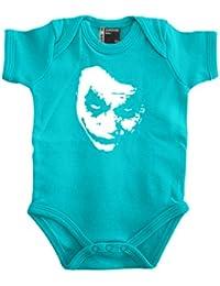 Heath Ledger–Joker Baby Body 56–80), varios colores azul Talla:68
