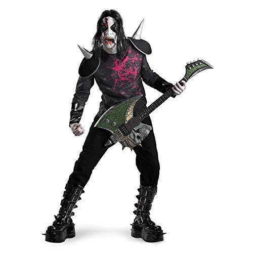 Metal Mayhem Kiss Style Costume Adult 42-46