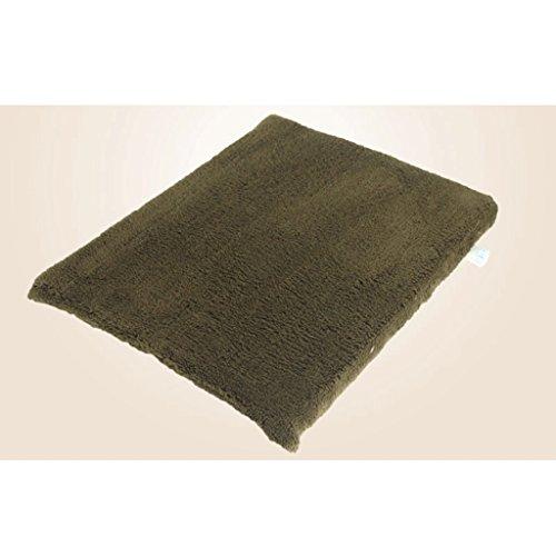 Hundeschlaf Bett Soft Velvet Pet Mat Anti-Rutsch-Maschine Waschbar Dog Pad (Size : XL)