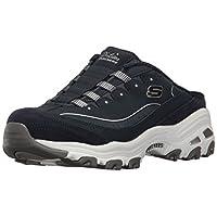 حذاء رياضي دي لايتس سهل الارتداء مفتوح من الخلف من سكيتشرز, (كحلي/أبيض), 8