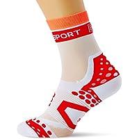 39-41 2019 Fahrradsocken COMPRESSPORT Pro Racing V3.0 Ultralight Bike Socks White Schuhgr/ö/ße T2