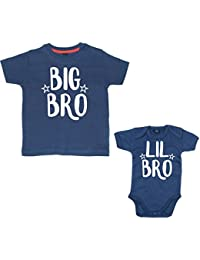Edward Sinclair Matching Big Bro T-Shirt & LIL Bro Bodysuit Set (Please Enter Sizes In Free Gift Message Box)