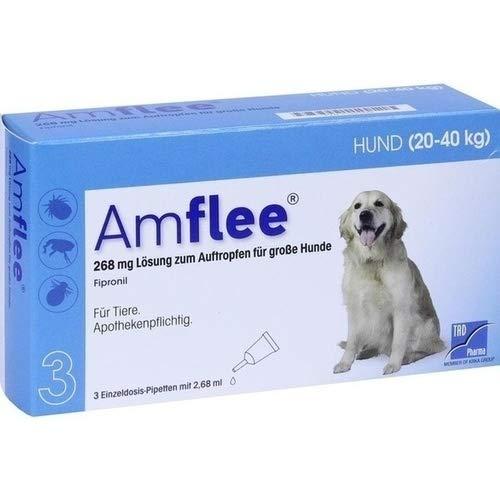 Amflee Spot-on Hund - 268 mg - 3 Pipetten