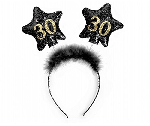 Partydeco-Diadema Cumpleaños número