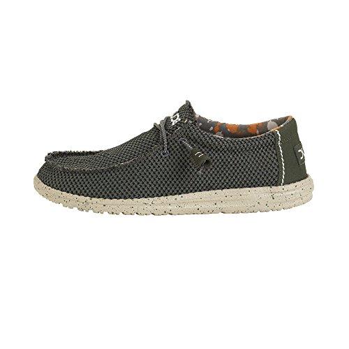 Dude Shoes Almizcle de Malla de Sox de Wally Hombres UK11 EU45 9c035490838