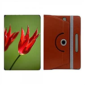 Hamee Premium Leather 360° Rotating Flip Case or Folio Case for upto 7 inch Tablet Cover Multicolor 960